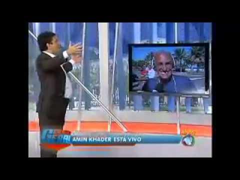 Tv Record Balanço Geral ´´ Amim Khader Não Morreu Assistam´´