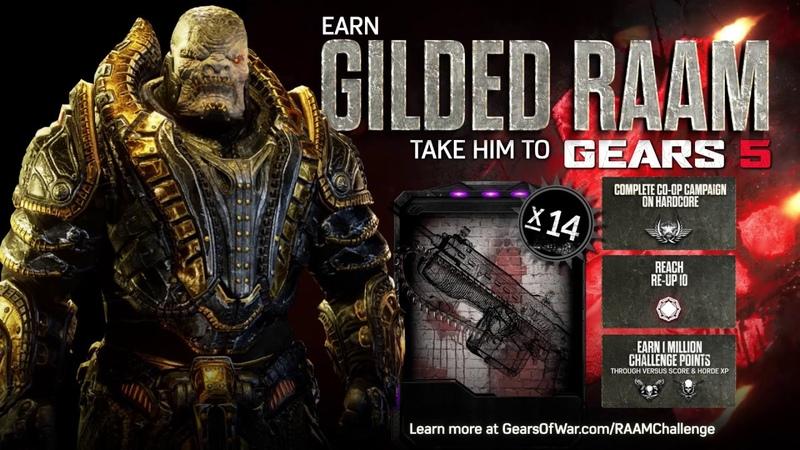Gears of War 4 Official Trailer: Gilded RAAM Challenge