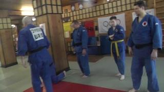 Атэми вадза в дзюдо . Техника чемпиона Мира Сергея Косоротова