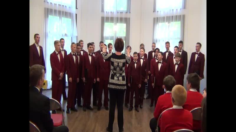 Выступление Хоровой капеллы мальчиков и юношей им. А.М. Жуковского (г. Иваново) на творческой встрече. Ищите Бога.