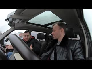 Обзор УАЗ Патриот с панорамной крышей от BMW X5