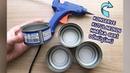 HARİKA BİR GERİ DÖNÜŞÜM FİKRİ Konserve Teneke Kutularının Geri Dönüşümü How to Recycle Tin Can