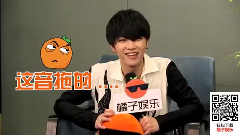 【20151217】华晨宇第二张专辑《异类》发布会 后台快问快答【CR 橘子娱乐】