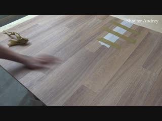 Линолеум, как сделать невидимый шов! Этому шву 9 лет