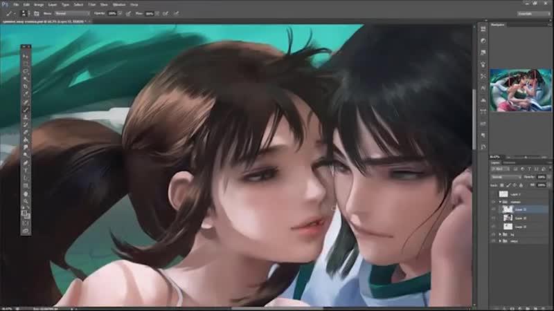 Speed painting sex
