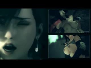 Tifa — game over (final fantasy sex)