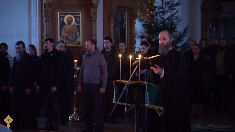 Тайно родился еси в вертепе хор Валаамского монастыря