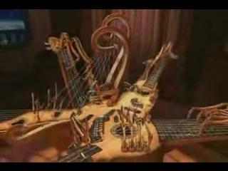 Невероятный механический музыкальный робот.flv 360 x 640