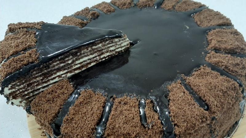 Шоколадно медовый торт Спартак с заварным кремом шоколадной глазурью LEZZETLI YUMUŞAQ SPARTAK TORTU KAKAOLU ŞOKOLADLI BALLI TORT ♥️80 000 ABUNEYE TEŞEKKURLER ♥️