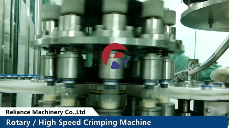 12 Reliance Rotary Capper Crimper Machine
