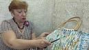 Мастер класс по вязанию крючком Сумка пляжная из пластиковых пакетов
