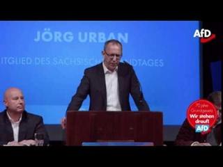 Jörg Urban (AfD). Islamisierung Deutschlands ist kein Hirngespinst von PEGIDA & der AfD. 23.05.2019