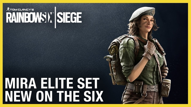 Rainbow Six Siege: Mira Elite Set New on the Six Ubisoft NA