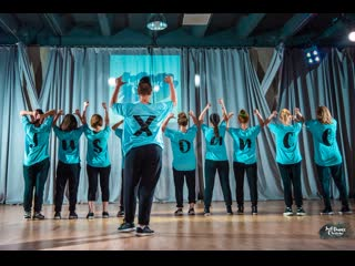 Choreography by lena vereshchagina (dancehall, students group) / just dance moscow birthday 2019