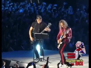 """Metallica поют """"группу крови"""" (в.цой / кино cover)"""