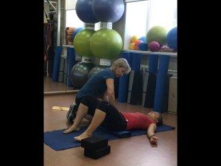 Тренировка с Лелей Савосиной