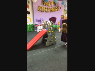 Горка Ракета - прокат Мой малыш