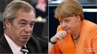 """She's MISERABLE"" Nigel Farage LOSES TEMPER on Angela merkel! She won't like this"