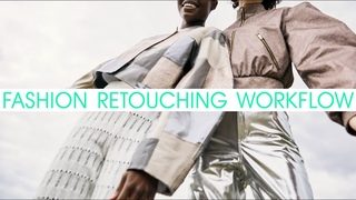 Fashion editorial retouching | wrinkles removing | TIMELAPSE | by Thomson