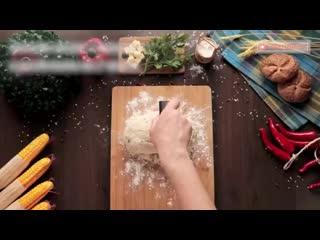 Пышные лепешки с зеленью и сыром - рецепт который вы полюбите с первого раз