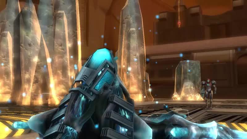 Metroid 7x22 Wii Metroid Prime 3.17 Explorando el Lado Este de Bryyo - Encontrando un Rundas corrompido
