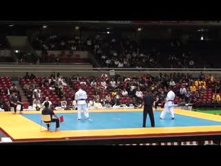 Lechi kurbanov vs wahyu purnomo @ 10th world open kyokushin karate tournament