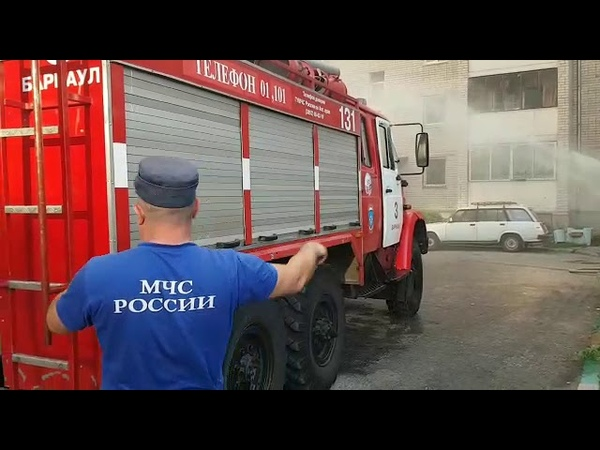 Пожар на Северном Власихинском, 60. Видео без комментариев