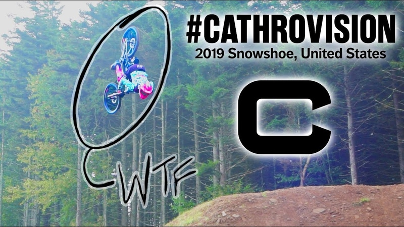 First Ever Backflip At A DH World Cup? Snowshoe DH World Cup Day 2 CathroVision 2019