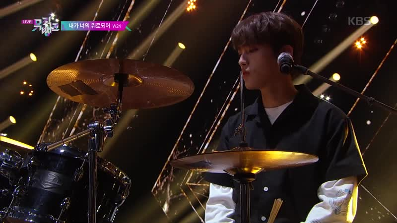 W24 Under The Tree 내가 너의 위로되어 Show Music Bank 16 08 2019