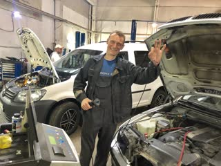 Диагностика и заправка кондиционера авто