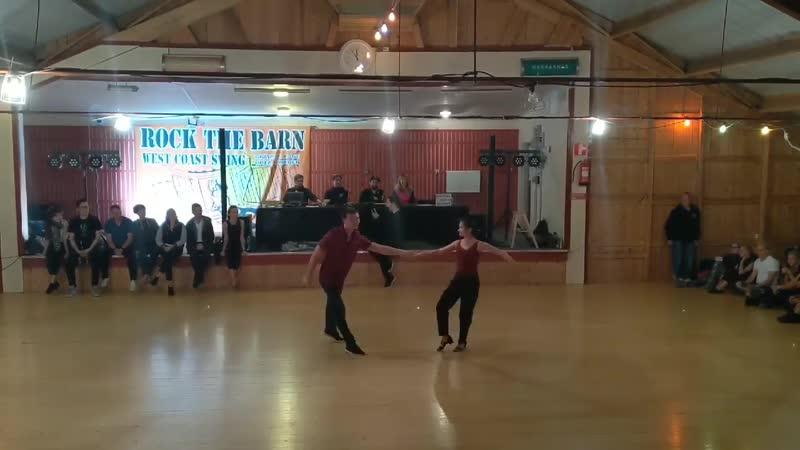 Semion Ovsiannikov Maria Elizarova Rock The Barn 2019 Pro Show Demo