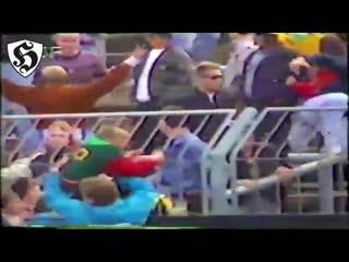 Hooligans fight _ dynamo dresden vs schalke 04