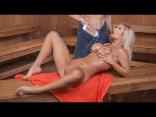 Luna skye (getting hot in the sauna / ) [all sex, blowjobs, big tits, 1080p]