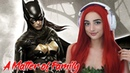 спс спс Batgirl! Poison Ivy Cosplay Batman Arkham Knight A Matter of Family