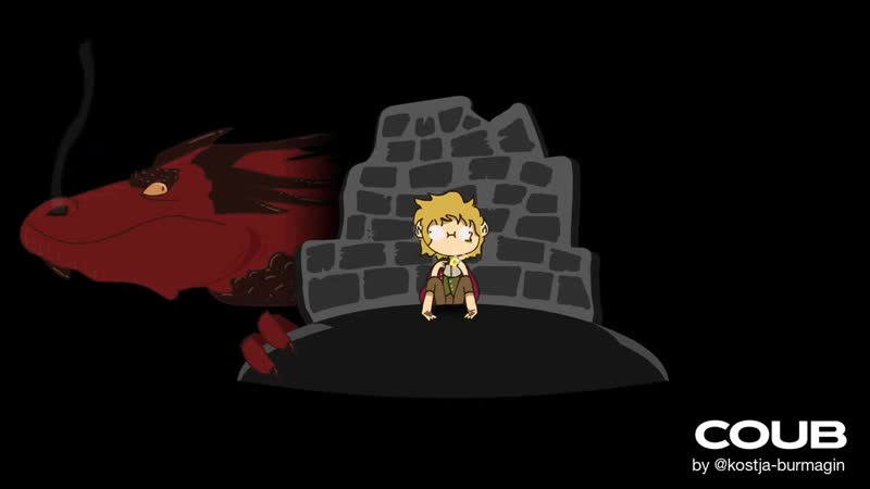 Bilbo disappears (Animation by @Aicpyk)