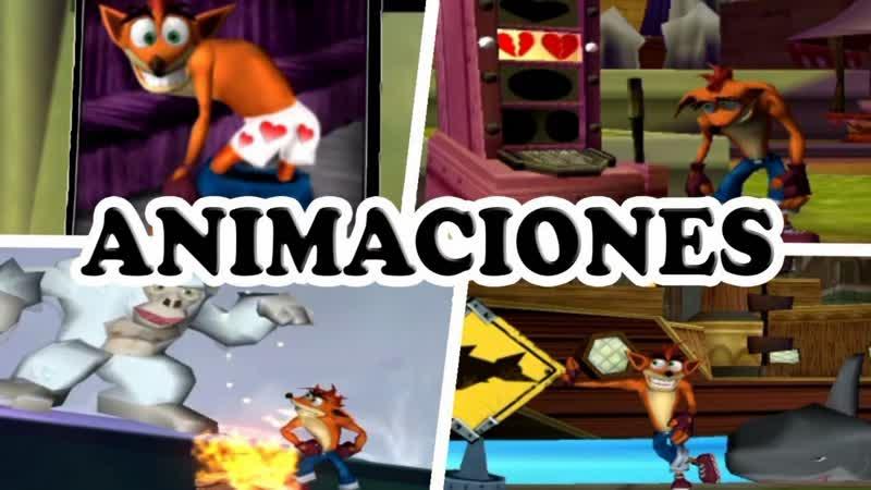 Todas Las Animaciones Y Atajos De Crash Tag Team Racing 360p