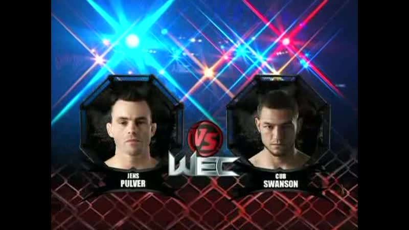 Cub Swanson vs. Jens Pulver [WEC 31 Faber vs. Curran]