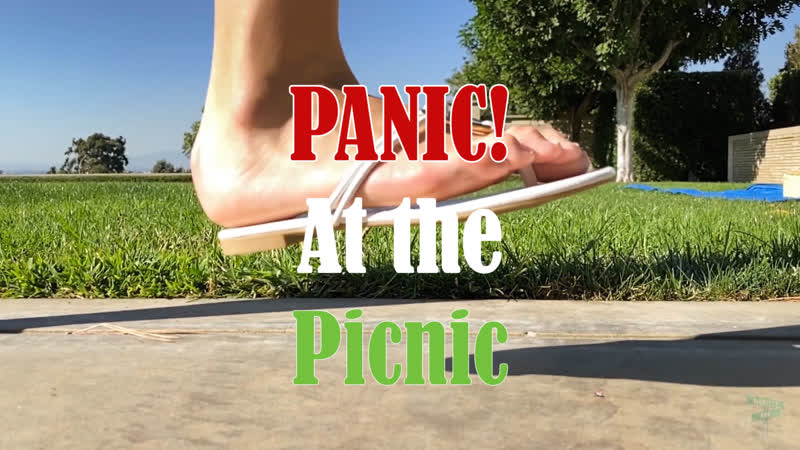 "Giantess Madeline Panic At the Picnic"" Unaware Foot Crush Vore Trailer"
