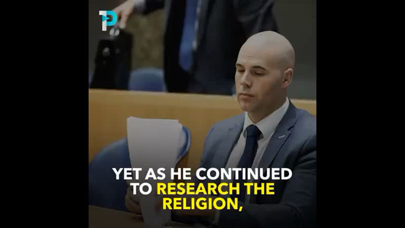 He used to campaign against Islam now he's a Muslim Allahuakbar