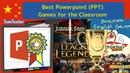 Best Powerpoint (PPT) Games