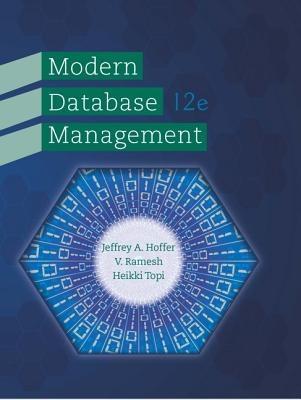 Modern Database Management 12th Edition