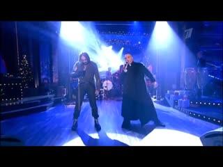 Вечерний Ургант - Король и Шут - Фрагмент мьюзикла TODD - Первая кровь (Ария священника и Тодда).