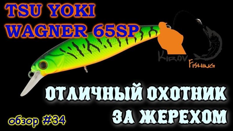 Tsu Yoki Wagner 65sp и трофейный жерех Обзор 34 KirovFishing