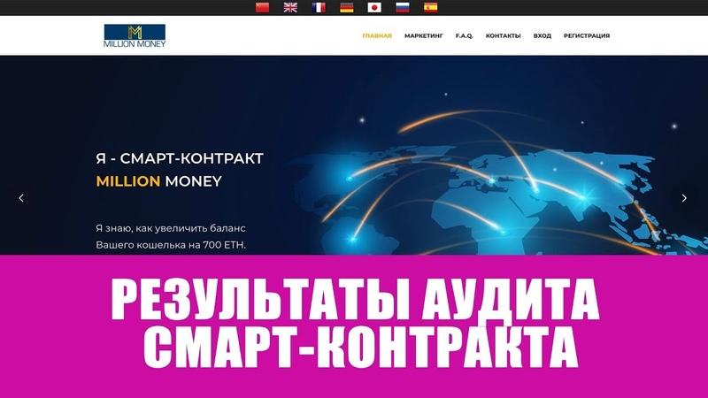 Результаты аудита MillionMoney by CryptoManaics