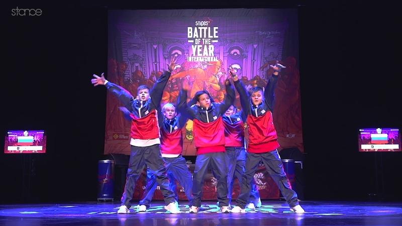 Breakoniers (Russia) - SNIPES BOTY Kids 2018 - Showcase