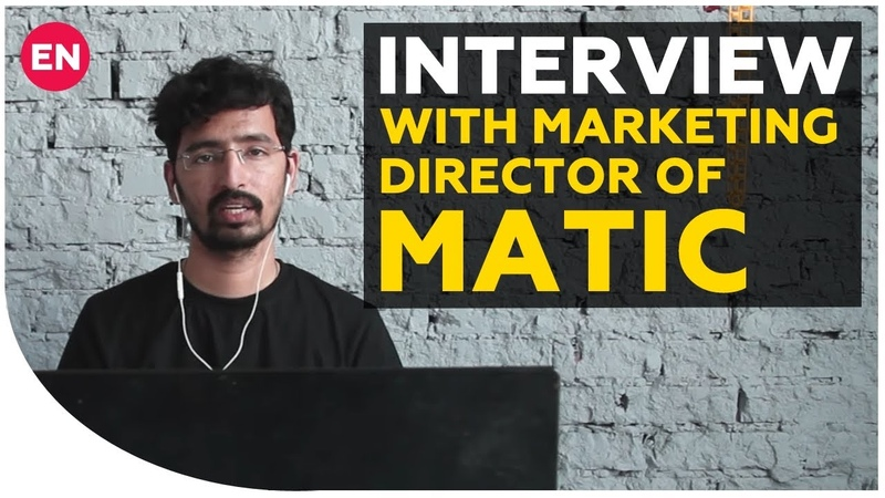 Siddhartha Jain - about Matic and success on Binance | Interview with marketing director of Matic