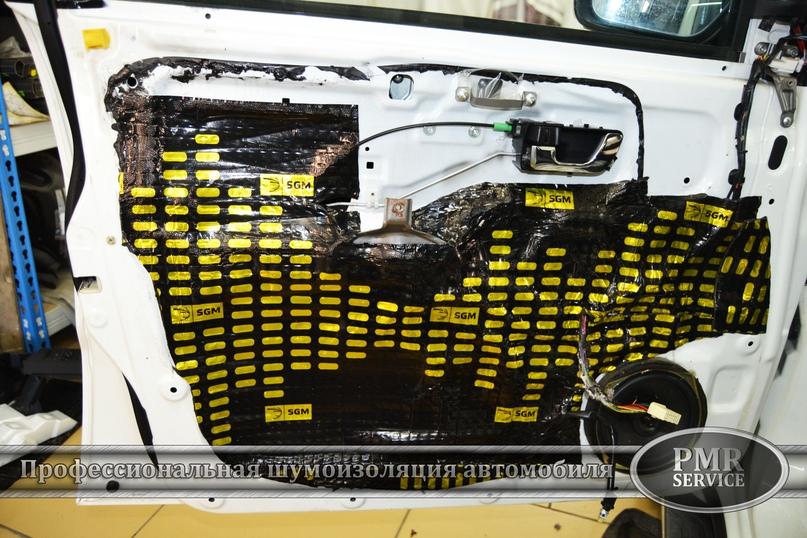 Шумоизоляция Mitsubishi Pajero, изображение №14