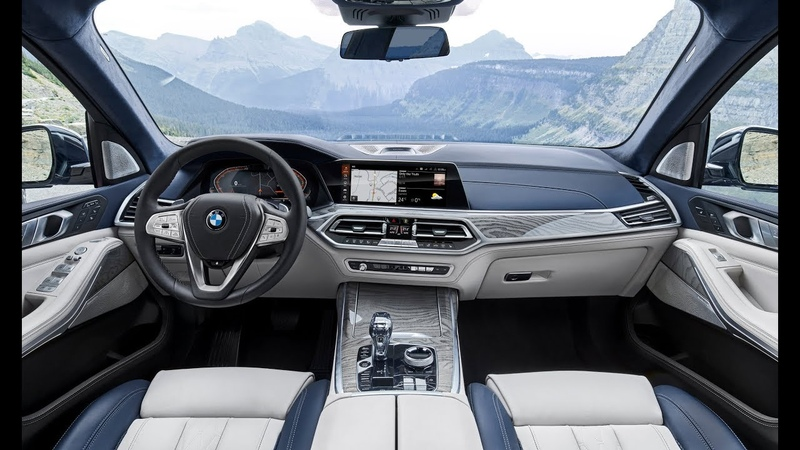 2019 BMW X7 INTERIOR Elegantly designed