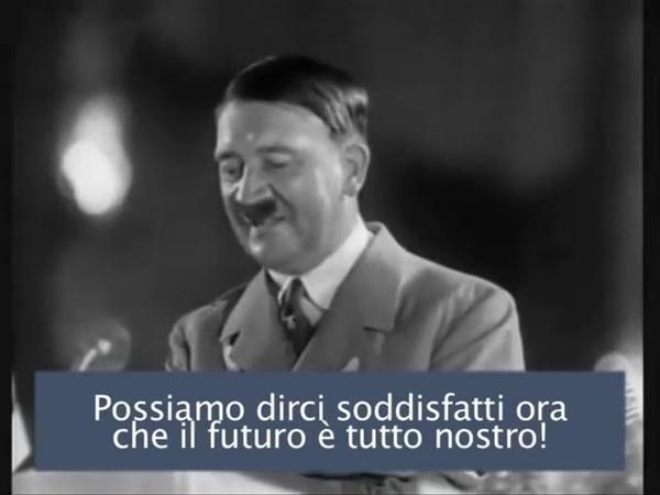 Analisi del Discorso - Discorso di Hitler al Partito Nazional Socialista dopo le elezioni 1933