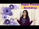 Paper Flower Decoration for Birthday, Engagement, Baby Shower for any occasion at home